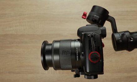 Zhiyun Crane M2 balancing Canon M50 EF-M 11-22mm